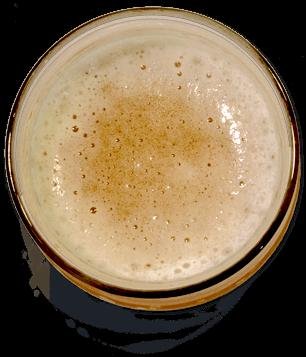Bon Beer Voyage Glass