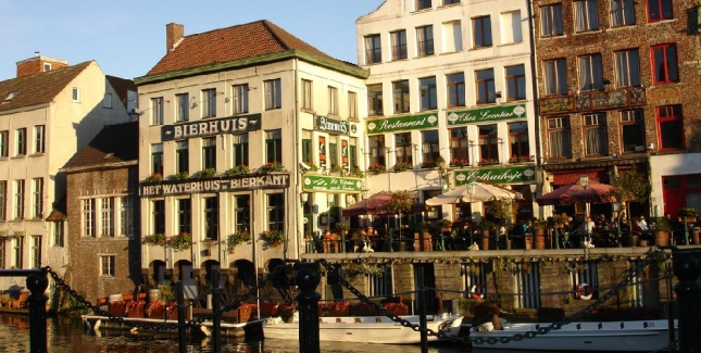 Ghent- Fabulous Bars and Restaurants, Scenic Canals and Great Belgian Beer!